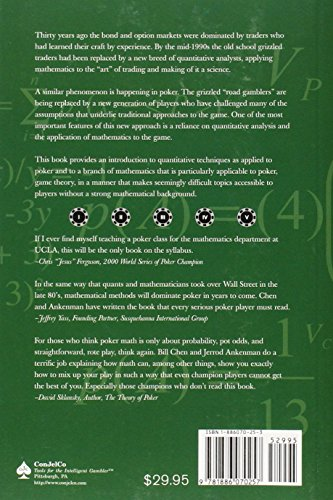 math essay chris ferguson game theory poker Chris ferguson, the star poker player and gifted programmer who devised the means and structure for full tilt poker and was one of its principal owners, and whom i wrote about for the new yorker.